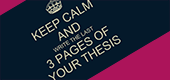 15 Top Tips for Finishing your PhD